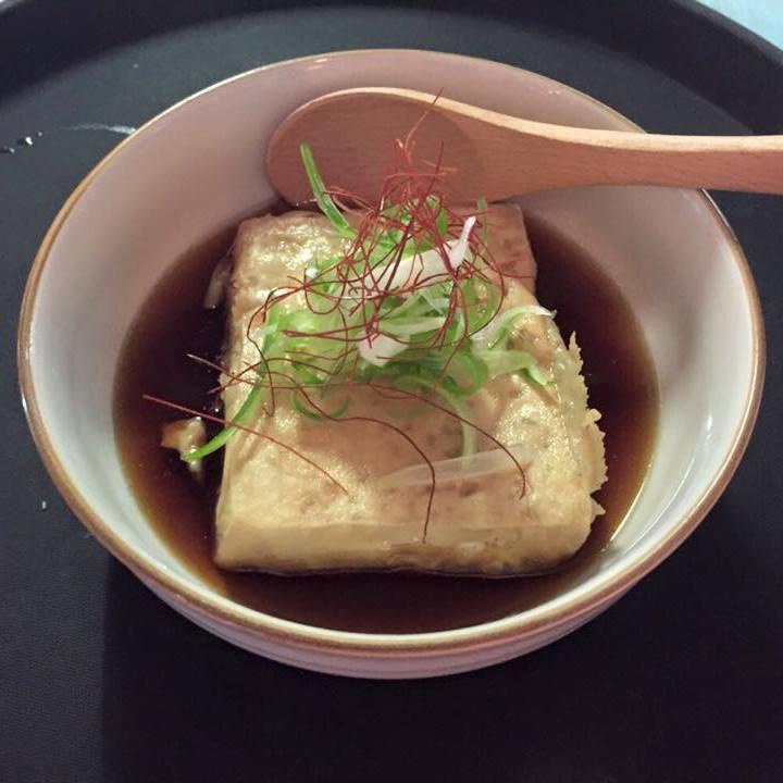 """<p>""""だし""""が美味しい、揚げ出し豆腐</p>"""