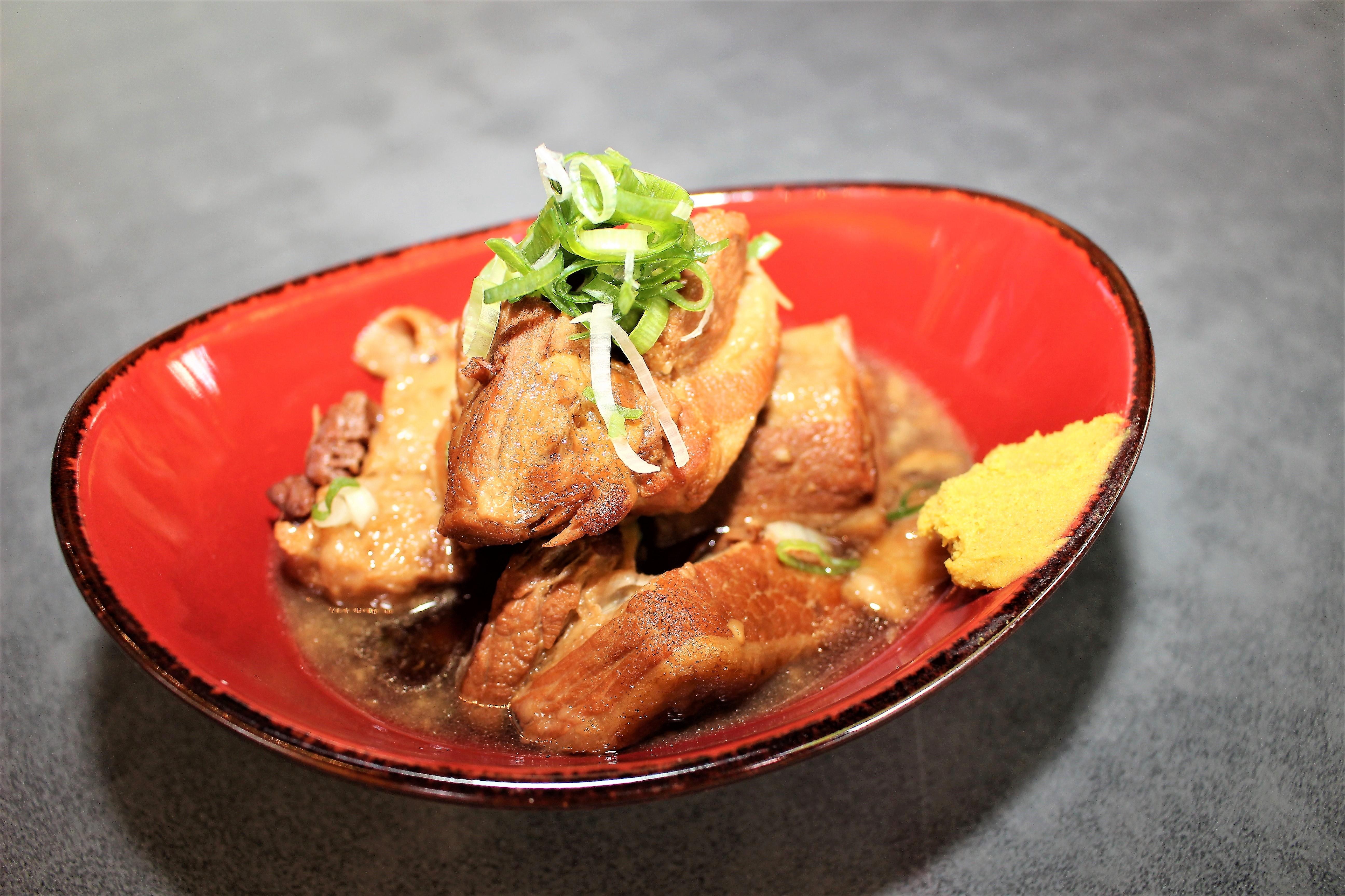 <p>豚の角煮</p> <p>Pork Belly Stew $13.00</p>