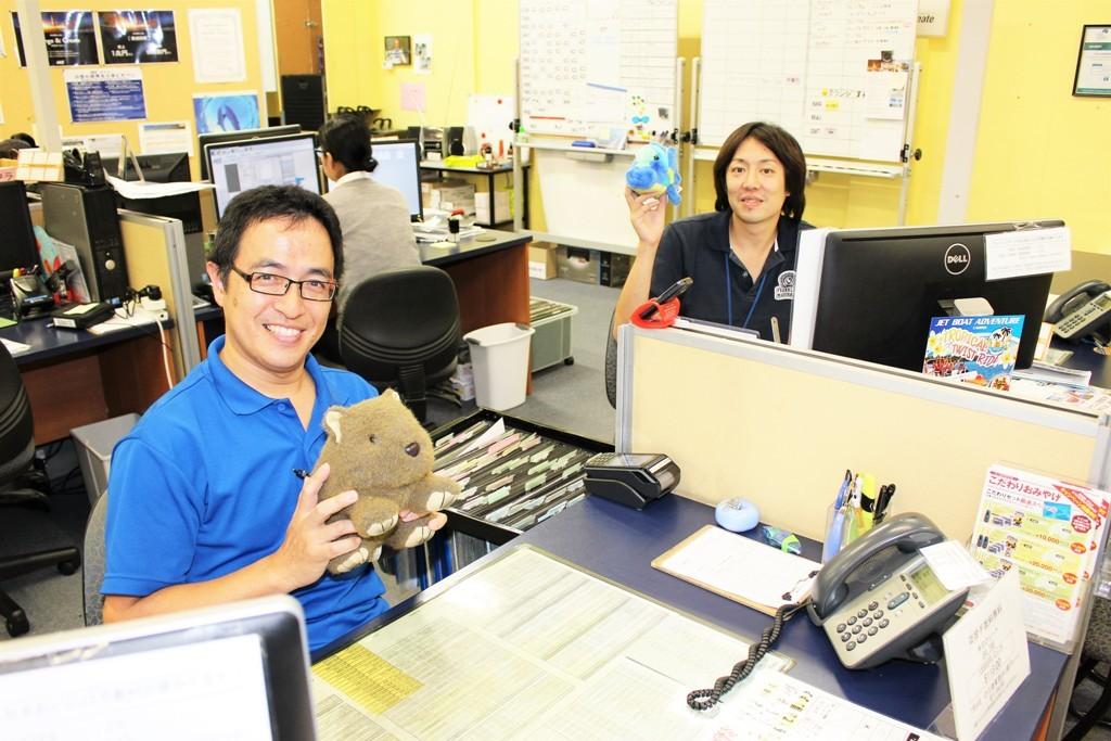 <p>フレンドリーな日本人スタッフが丁寧にご案内致します。</p>