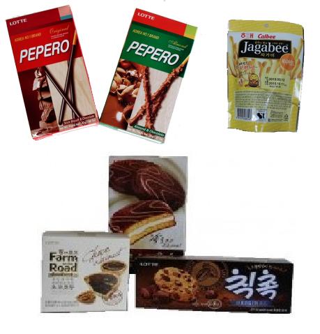 <p>しかもどれもとってもお買い得。LOTTEのペペロはなんと$1.20~!! 日本でも大人気のCalbeeのジャガビーや 懐かしのチョコパイなど、とにかく種類が豊富で 選ぶのに迷っちゃいます。</p>