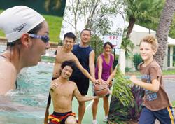 <p>また、ヨガ、水泳教室、色々なアクティビティが用意されて勉強だけではなく、 健康面の配慮も完璧である。</p>