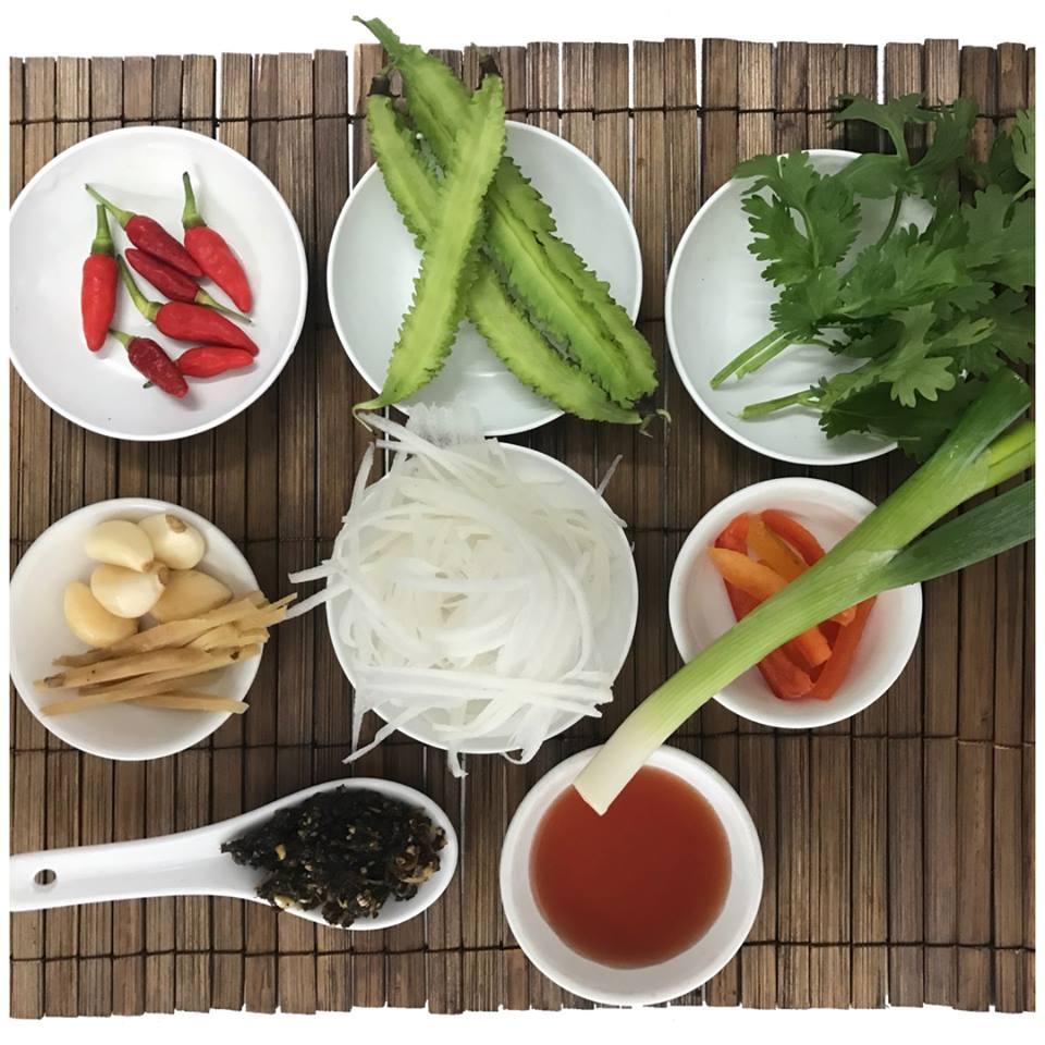 <p>全て地元でとれた新鮮な食材を使用。</p>