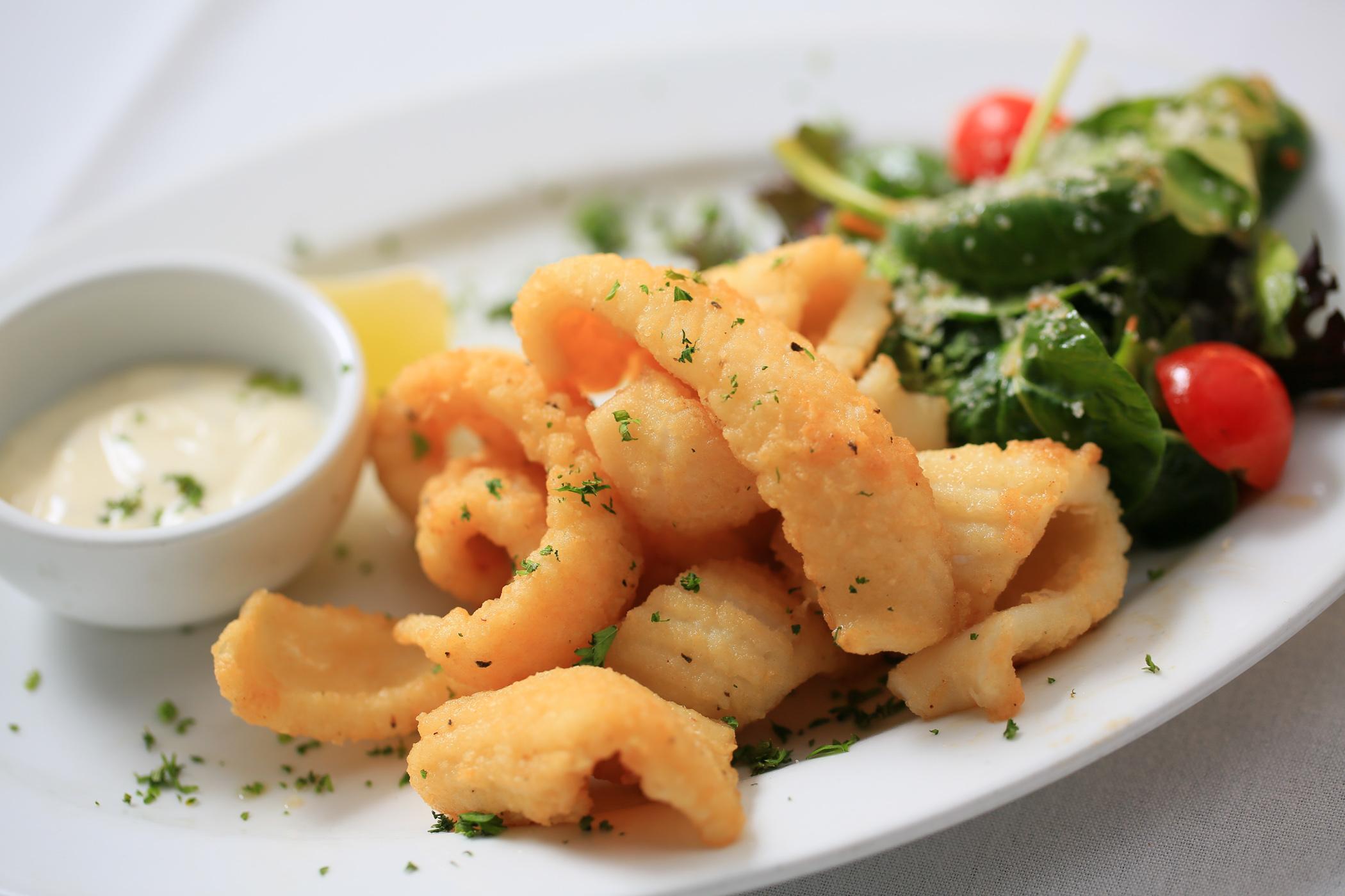 <p>Calamari</p>