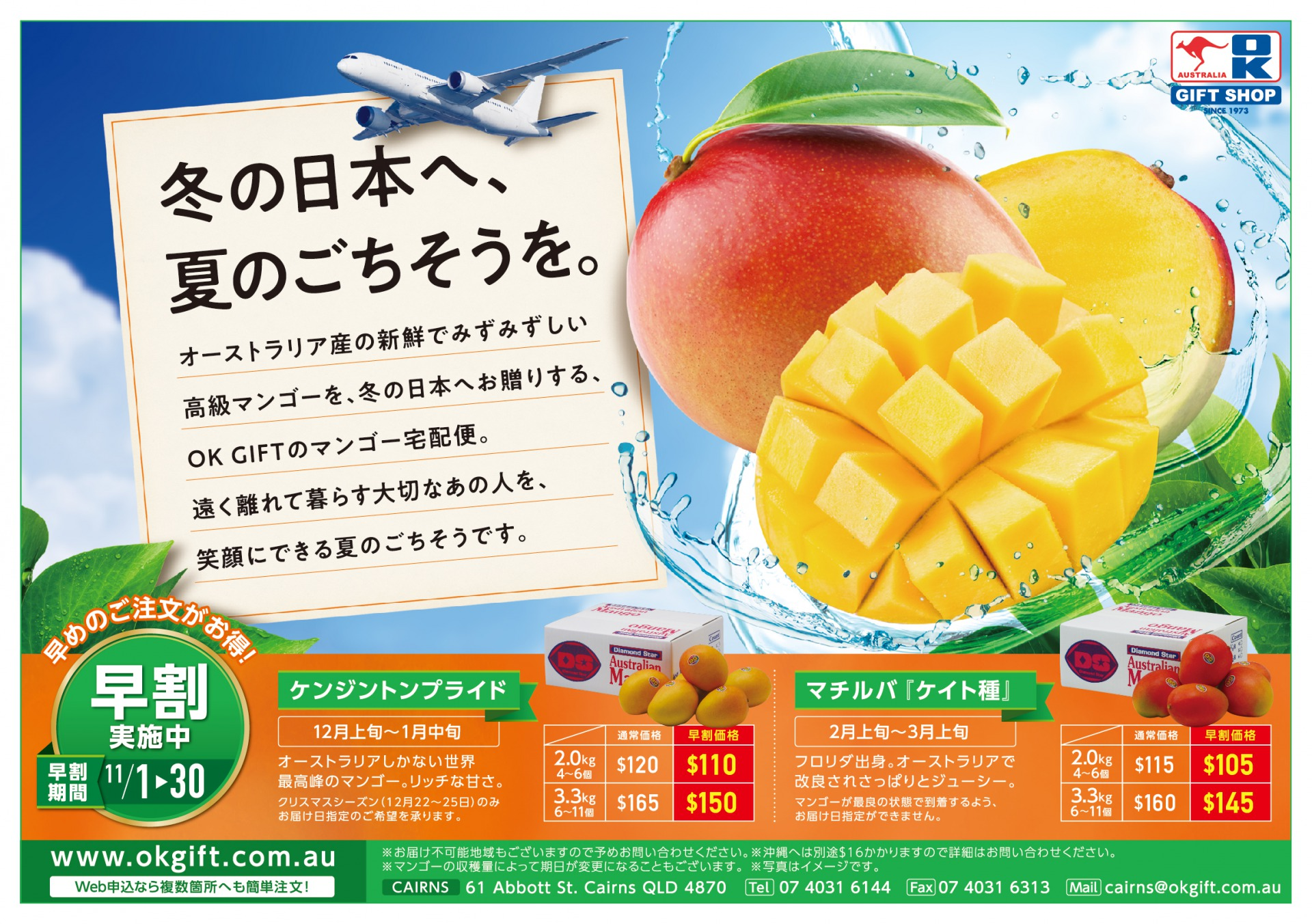 OK GIFT のマンゴー