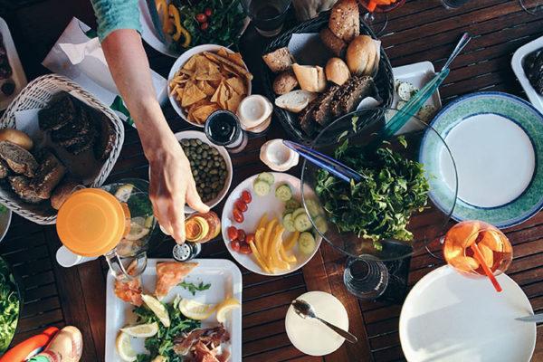食物が関与する体の影響