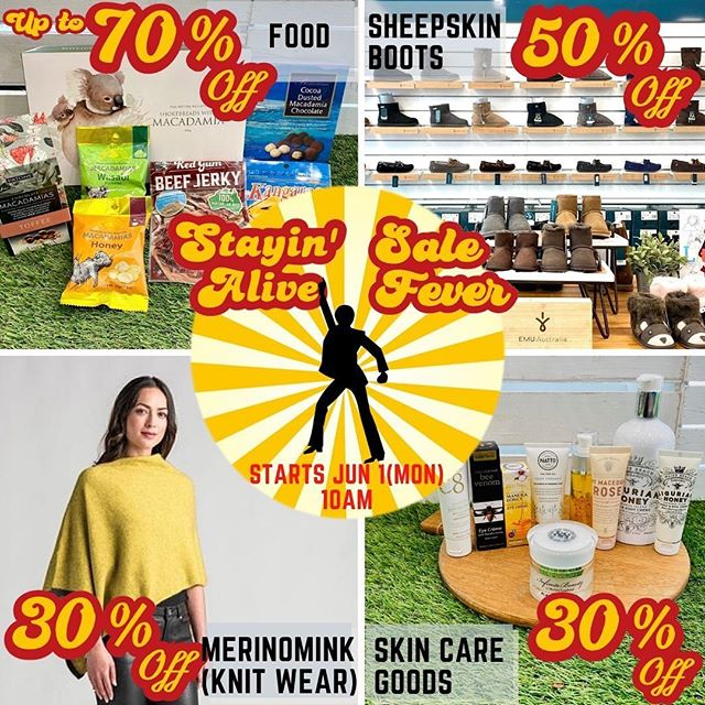 【OK Gift Shop】営業再開のお知らせ, Sale開催のお知らせ-Part1